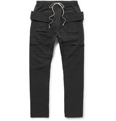 Rick Owens Cotton-Blend Faille Trousers