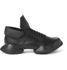 Rick Owens + adidas Ro Runner Leather Sneakers