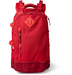 Visvim Ballistic 20L Suede-Trimmed CORDURA® Canvas Backpack