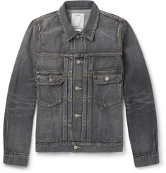 Visvim - Social Sculpture 101 Washed Selvedge Denim Jacket