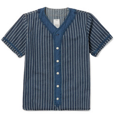 visvim Dugout Indigo-Dyed Cotton Shirt