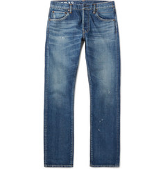 Visvim - Social Sculpture 01 Slim-Fit Washed-Denim Jeans