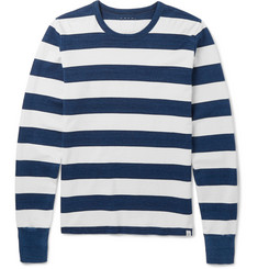 Visvim - Striped Cotton-Jersey T-Shirt