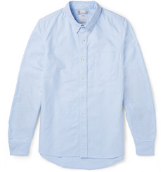 visvim Albacore Elbow Patch Cotton Oxford Shirt