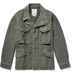 Visvim Achse Cotton-Canvas Field Jacket