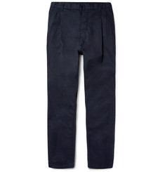 Sacai - Tapered Cotton Trousers