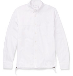 Sacai Slim-Fit Button-Down Collar Cotton Shirt
