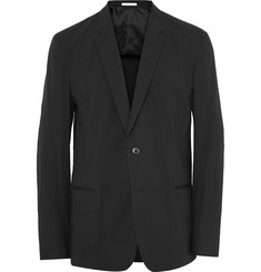 Paul Smith Black Cotton-Blend Blazer