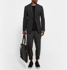 Paul Smith Slim-Fit Black Cotton-Blend Blazer