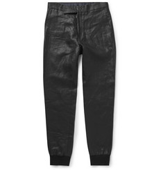 Paul Smith - Slim-Fit Coated Linen Trousers