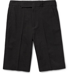 Paul Smith - Linen and Cotton-Blend Shorts