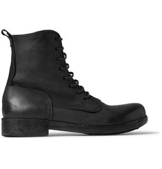 Marsell Brushed-Nubuck Boots