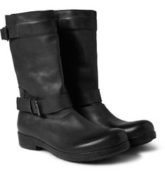 Marsell Leather Biker Boots