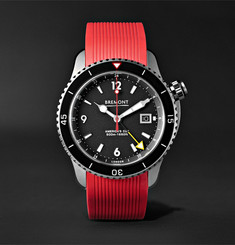 Bremont Oracle II Automatic 43mm Titanium Watch with Rubber and Kevlar Straps