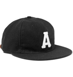 Ebbets Field Flannels - Atlanta Crackers 1947 Wool-Broadcloth Baseball Cap