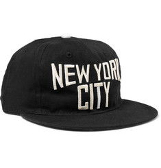 Ebbets Field Flannels - New York City Embroidered Cotton-Twill Baseball Cap