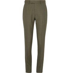 Dunhill - Slim-Fit Puppytooth Cotton-Blend Trousers