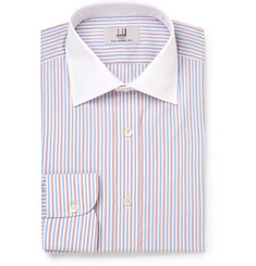 Dunhill Slim-Fit Striped Cotton Shirt