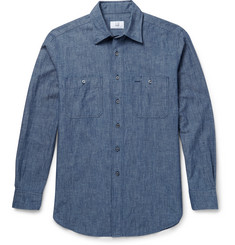 Dunhill Slim-Fit Cotton-Chambray Shirt