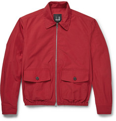 Dunhill Cotton-Blend Harrington Jacket