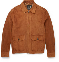 Dunhill - Suede Harrington Jacket