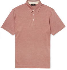 Dunhill - Slim-Fit Cotton and Silk-Blend Polo Shirt