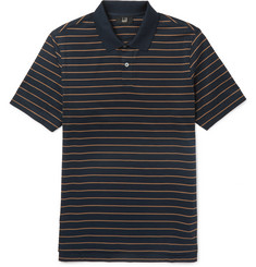 Dunhill Slim-Fit Striped Cotton Polo Shirt