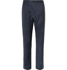 OAMC Tapered Checked Wool Trousers