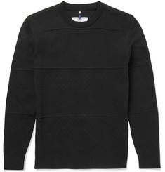 OAMC - Slim-Fit Textured Cotton-Blend Sweater