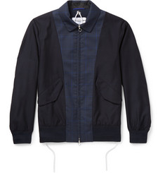 OAMC - Panelled Wool-Blend Bomber Jacket