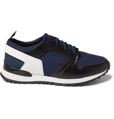 OAMC Leather And Neoprene Sneakers