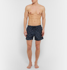 Paul Smith Shoes & Accessories - Printed Mid-Length Swim Shorts