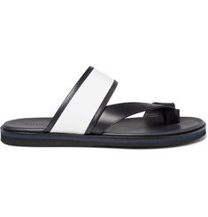 WANT Les Essentiels de la Vie Mateos Two-Tone Leather Sandals