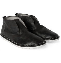 Marsell Full-Grain Leather Slip-On Chukka Boots