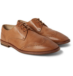 Marsell - Washed-Leather Wingtip Brogues
