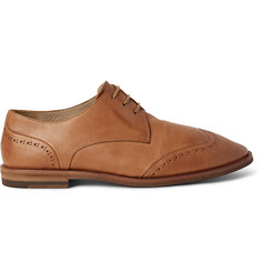 Marsell Washed-Leather Wingtip Brogues