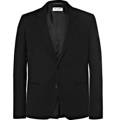Saint Laurent Virgin Wool-Jacquard Blazer