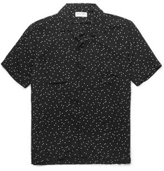 Saint Laurent - Polka-Dot Crepe Shirt