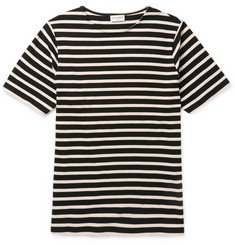Saint Laurent - Slim-Fit Striped Cotton T-Shirt