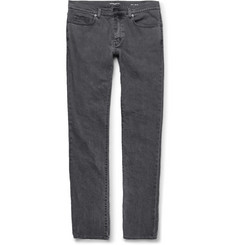 Saint Laurent Slim-Fit 17cm Hem Stretch-Denim Jeans