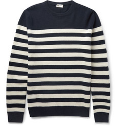 Saint Laurent - Striped Cashmere Sweater