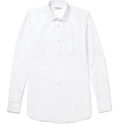 Saint Laurent - Slim-Fit Cotton-Poplin Shirt