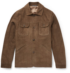 Richard James - Slim-Fit Suede Jacket