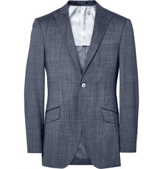 Richard James Blue Seishin Slim-Fit Wool and Silk-Blend Suit Jacket