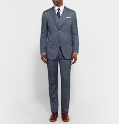 Richard James - Blue Seishin Slim-Fit Wool and Silk-Blend Suit Jacket