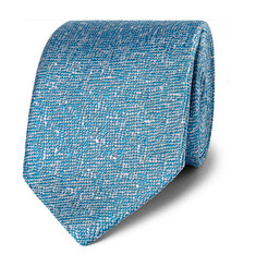 Richard James Mélange Woven Silk Tie