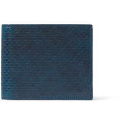 Richard James - Embossed Leather Billfold Wallet