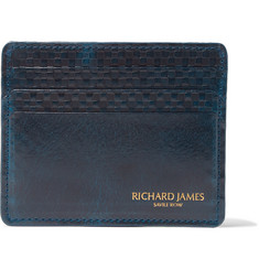 Richard James Embossed Leather Cardholder