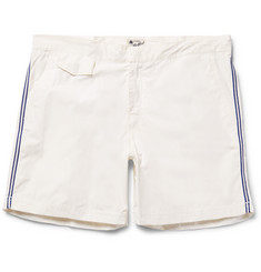 Hartford Socoa Mid-Length Striped Shell Swim Shorts