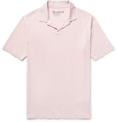 Hartford - Garment-Dyed Cotton-Jersey Polo Shirt